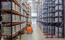 Mecalux ha installato scaffalature drive-in e scaffalature portapallet nel nuovo magazzino