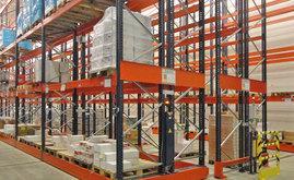 L'operatore seleziona il corridoio su cui deve lavorare, in maniera manuale o tramite un telecomando a distanza