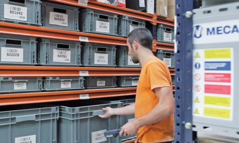 L'implementazione di Easy WMS fornisce gli strumenti per ottimizzare e controllare i tipici processi del magazzino