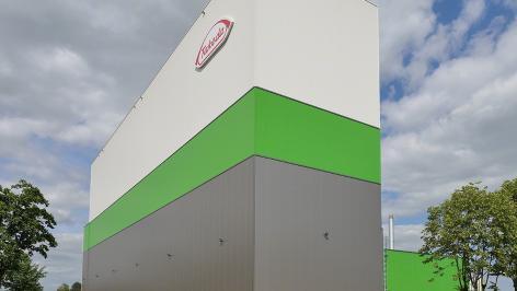 Takeda: Tutte le fasi dell'installazione di un magazzino autoportante