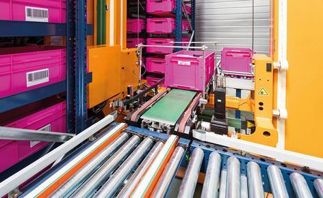 L'azienda si è affidata all'automazione offerta dal magazzino di contenitori miniload di Mecalux per gestire il processo logistico del suo centro ubicato a Servon-sur-Vilaine (Francia)