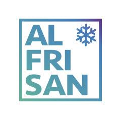 Il centro logistico avanzato di Alfrisan, con sei celle di congelamento