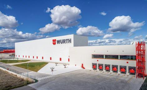 Würth ha ampliato i propri impianti di Spagna