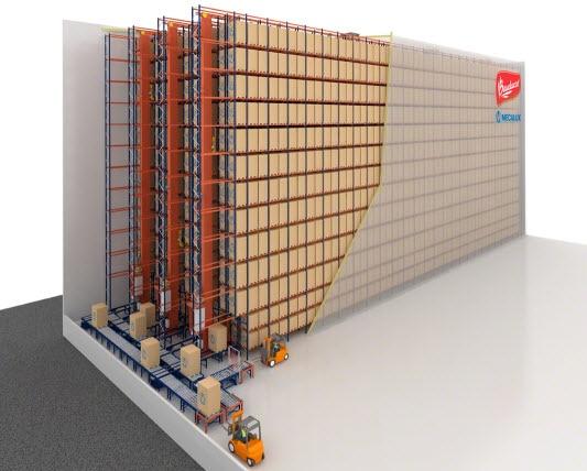 I panettoni di Bauducco in Brasile saranno stoccati in un nuovo magazzino automatico autoportante