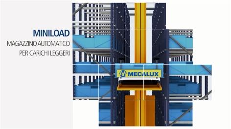 Miniload – Magazzino automatico per carichi leggeri