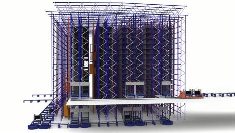 Innovazione e tecnología al servizio della logistica di Michelin nel magazzino automatico di Vitoria in Spagna