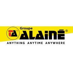 Il magazzino dell'operatore logistico Gruppo Alainé in Francia.