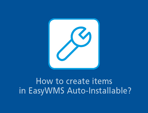 Create, download and import items