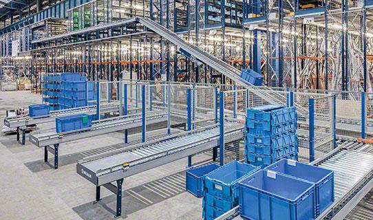 Sistemi di trasporto per contenitori