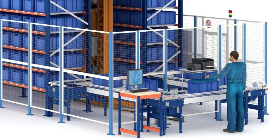 Nuovo magazzino automatico per contenitori di Airgrup