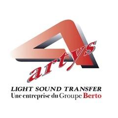 Il magazzino per impianti audio di Artys in Francia