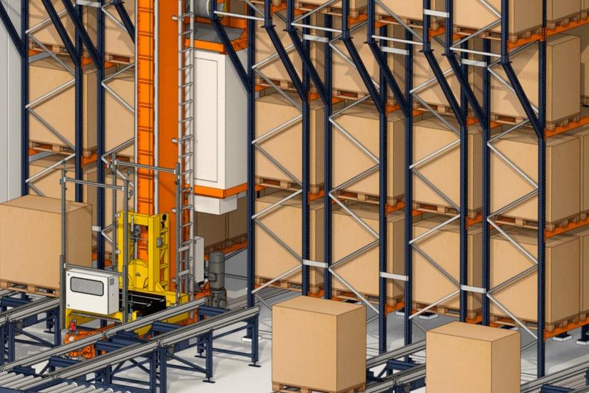 Industrias Yuk costruirà un magazzino automatico per pallet e contenitori