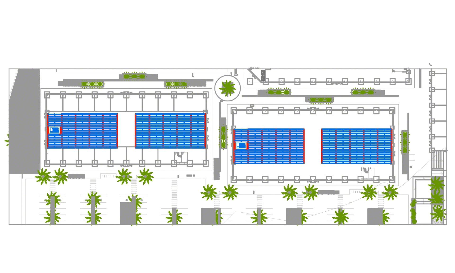 Soluzione che ottimizzerà la superficie di stoccaggio di Almenara Mall