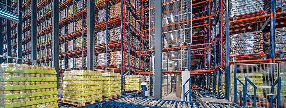 Gestione efficiente dei legumi in scatola di Cistér grazie a un nuovo magazzino