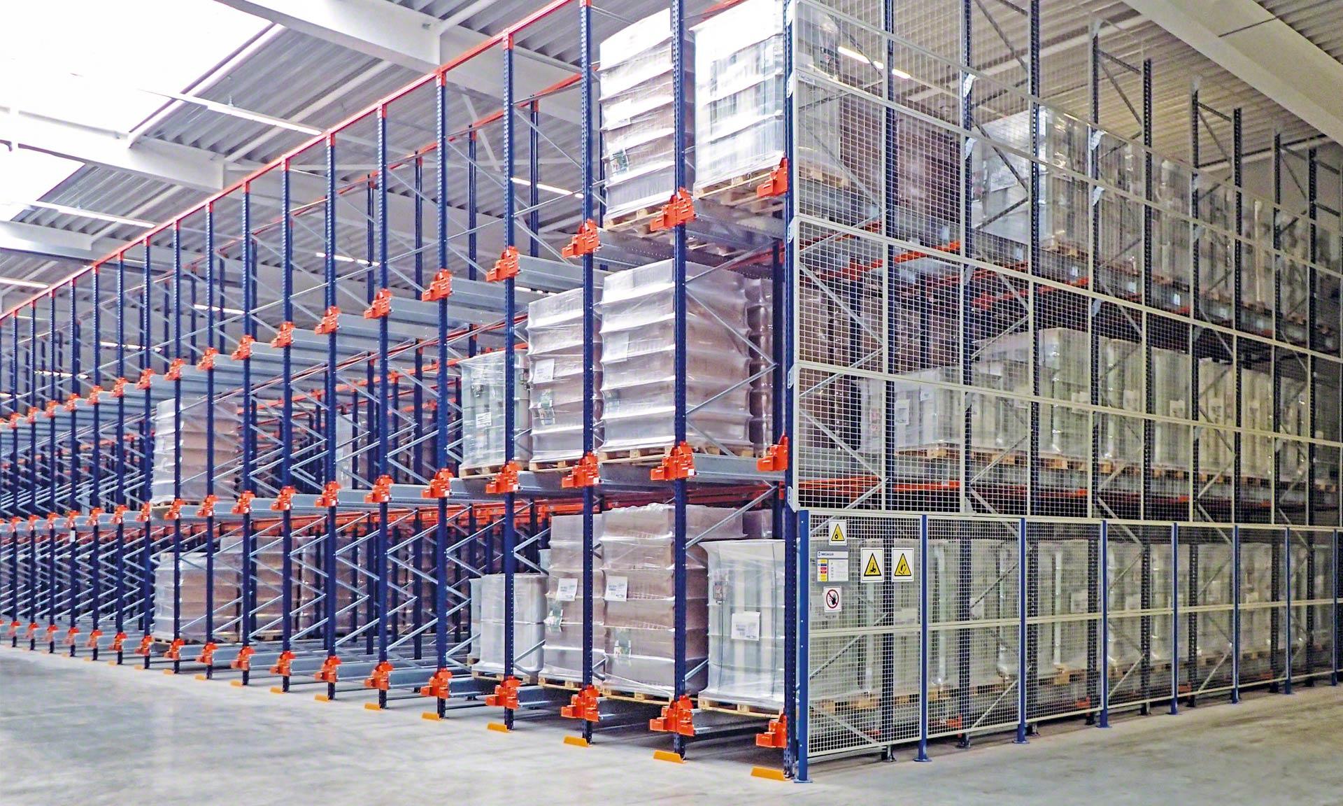 Weddeling sfrutta al massimo lo spazio del suo magazzino in Germania
