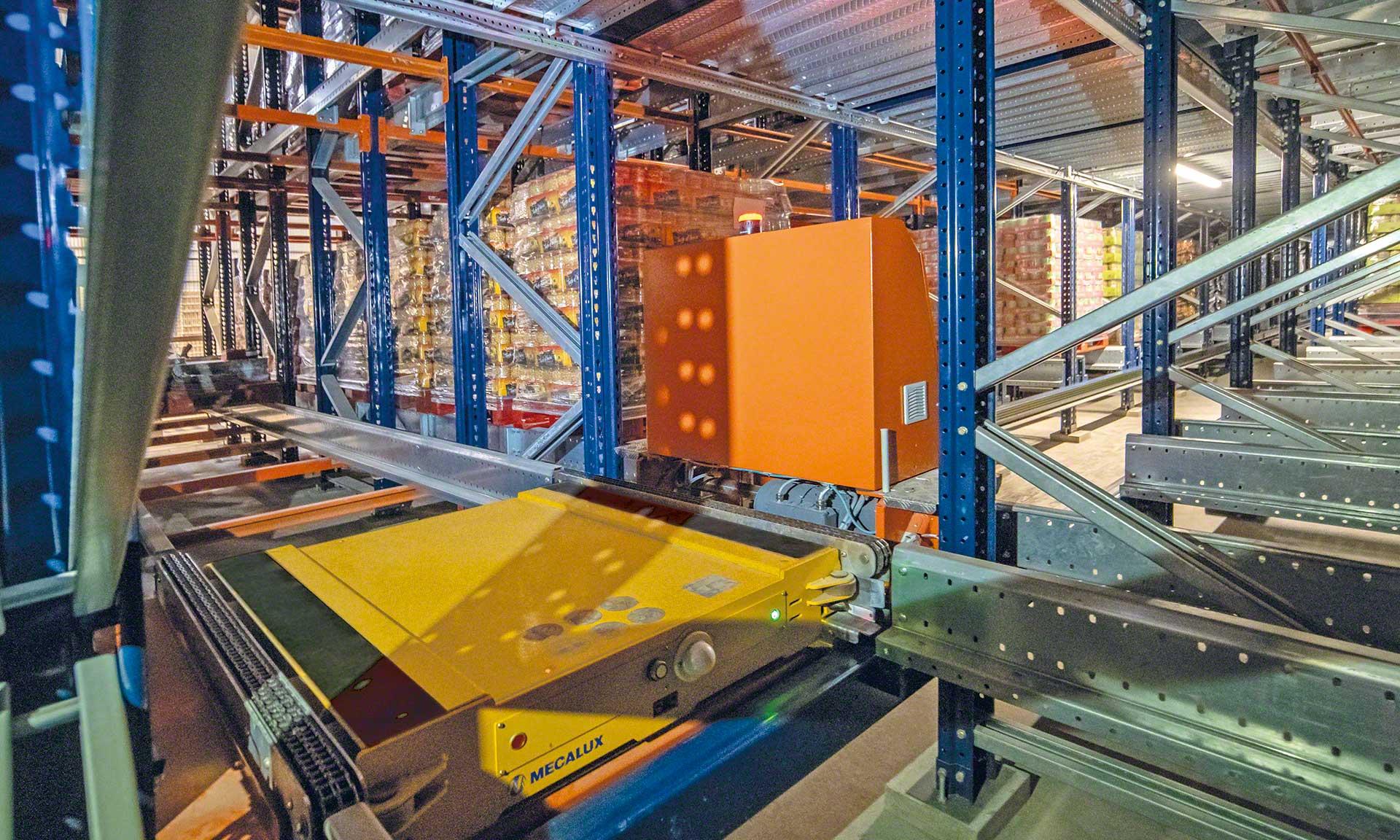 Ampliamento del magazzino automatico Cistér in Portogallo