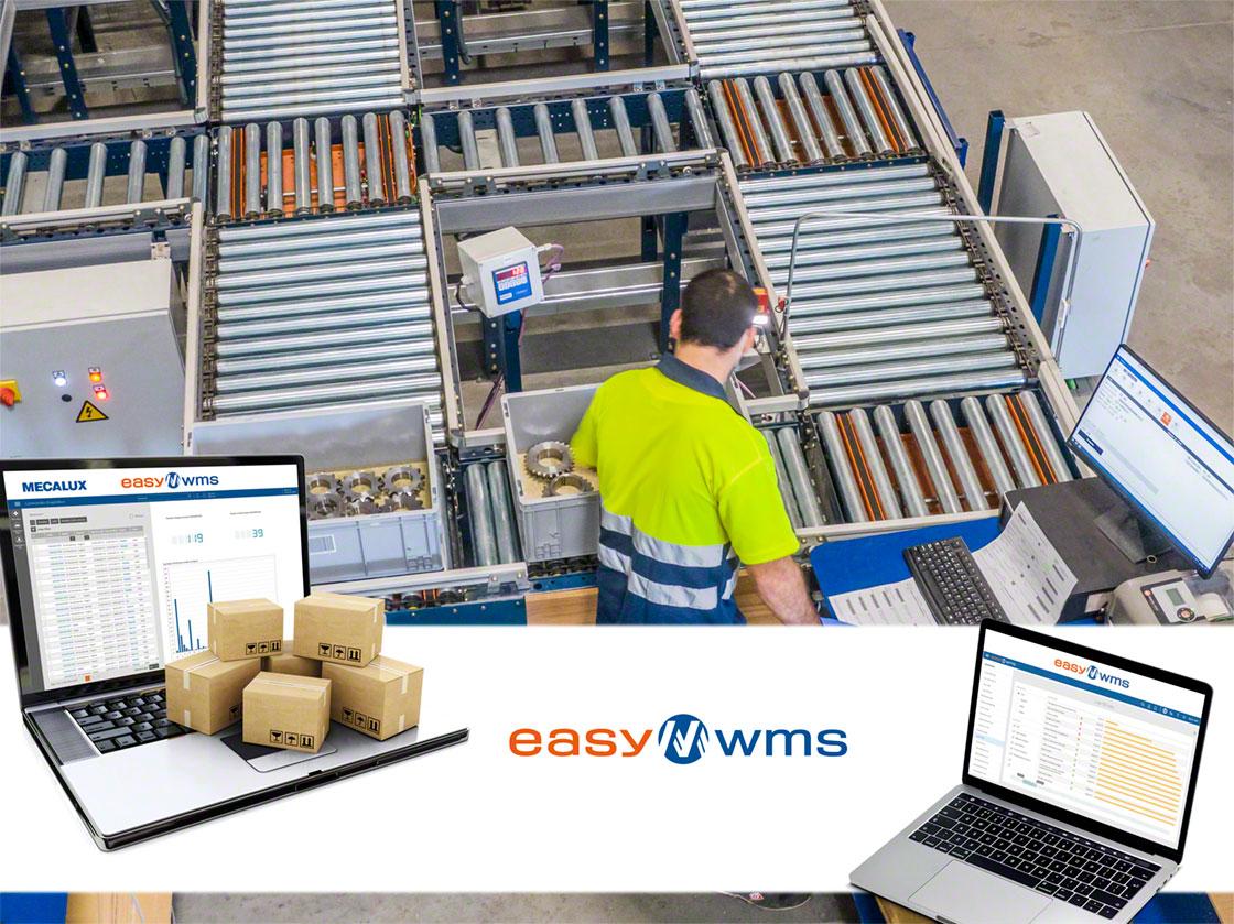 L'installazione di un WMS come Easy WMS è imprescindibile per coordinare i movimenti della merce e degli addetti al magazzino propri del picking a zona