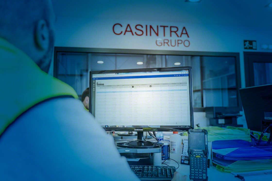 L'operatore logistico Casintra utilizza la funzionalità multimagazzino di Easy WMS per organizzare i cicli operativi dei suoi cinque magazzini in Spagna