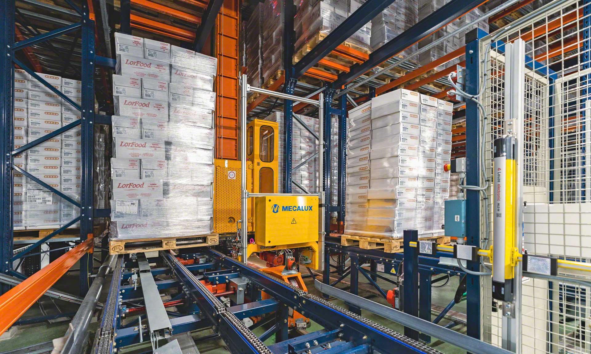Logistica a basse temperature: soluzione completa in sei magazzini