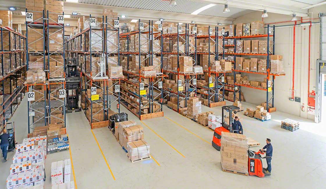 L'audit logistico analizza l'efficienza delle differenti aree di stoccaggio