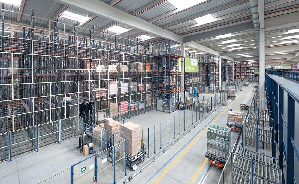 Capacità, sequenziamento ed elevata disponibilità nel centro logistico di Luís Simões
